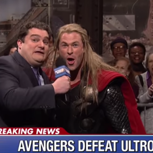 SNL: 'Avengers' skit starring Chris Hemsworth as Thor
