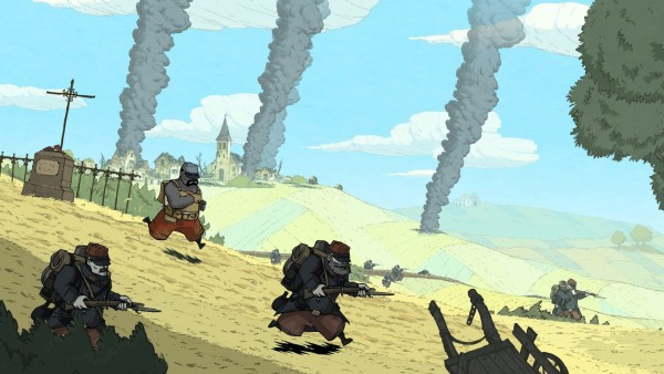 A screenshot for Valiant Hearts, one of the many games available for free for PS+ subscribers