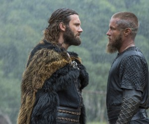Vikings - Rollo (Clive Standen) and Ragnar (Travis Fimmel)