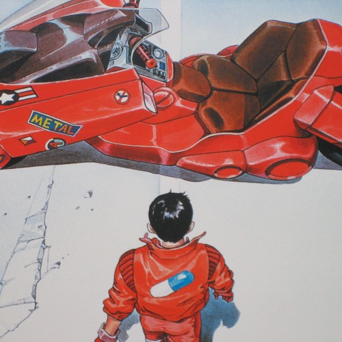 Live-action Akira visual test footage