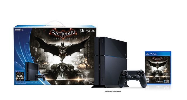 batman arkham knight ps4 console bundle 4