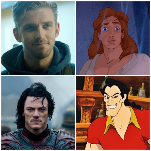 We may have found our Beast and Gaston in the live-action 'Beauty and the Beast' story