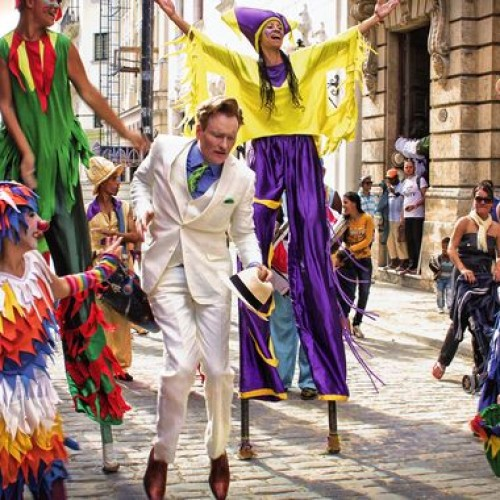 Conan in Cuba: A historical event for TV