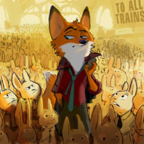 New Disney's Zootopia concept art reveals modern animal city