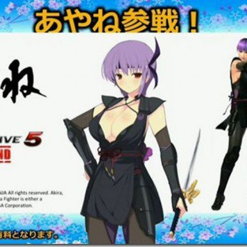 Dead or Alive's Ayane is heading to Senran Kagura: Estival Versus