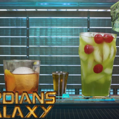 Guardians of the Galaxy cocktails