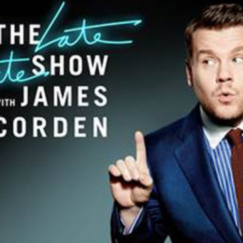 The Late, Late Show with James Corden gets the celebrity treatment