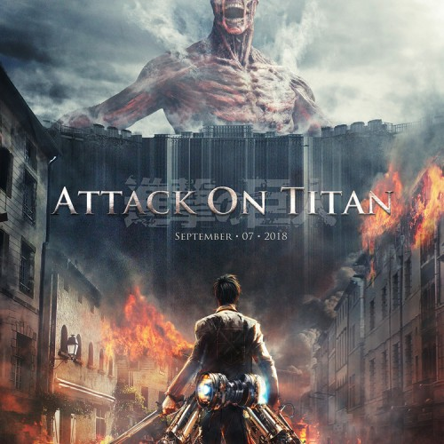 First look at the live-action 'Attack on Titan' features a rampaging Titan
