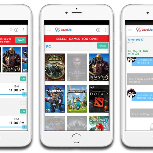 Lovel Up – Tinder for gamers
