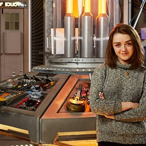 Doctor Who Season 9 read-through with special guests Rufus Hound & Maisie Williams