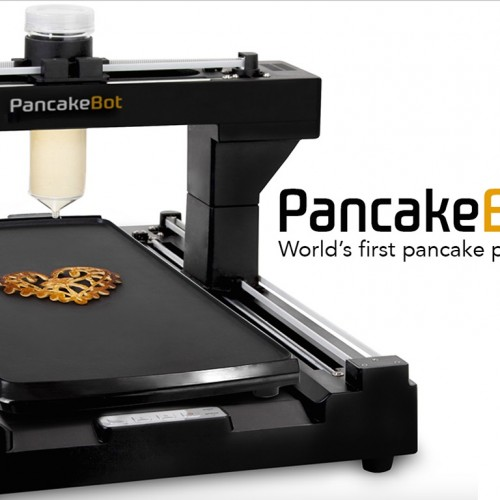 Let's start printing Pancakes with the PancakeBot