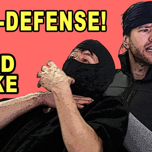 Solid Snake teaches self-defense (video)