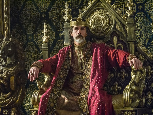 vikings Emperor Charles of France, played by Lothaire Bluteau