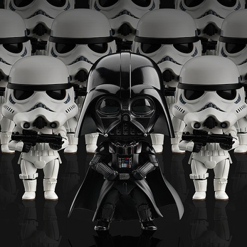 Nendoroid Darth Vader and Stormtroopers are ready to conquer the Galaxy
