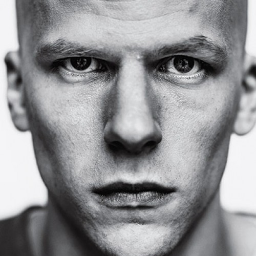 Here's your first look at Jesse Eisenberg as bald Lex Luthor