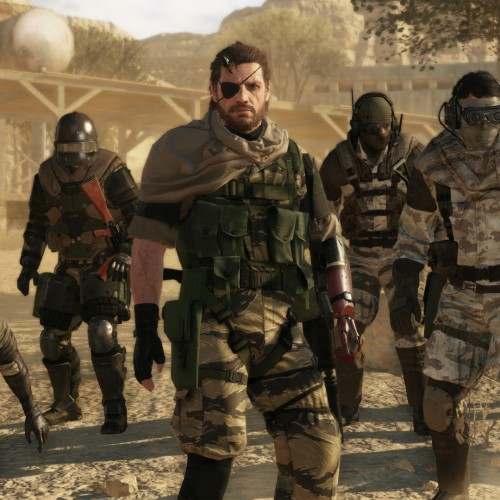 Here's a video showing what it's like for Metal Gear Solid V: The Phantom Pain at E3