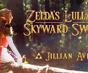 zelda's lullaby ocarina of time jillian aversa
