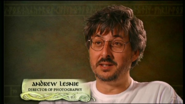 Andrew Lesnie lord of the rings