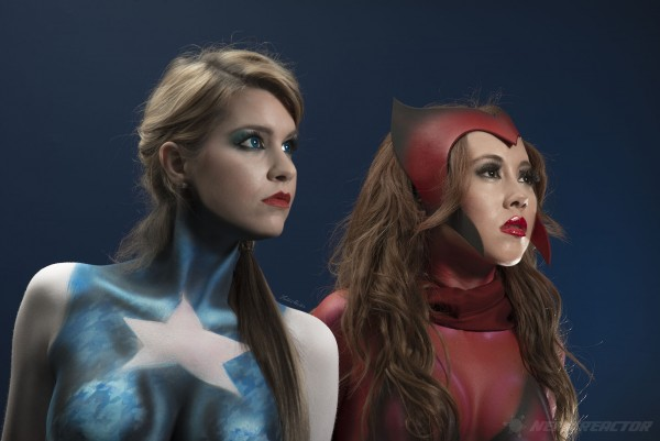 Avengers Captain America Scarlet Witch Photoshoot - 01