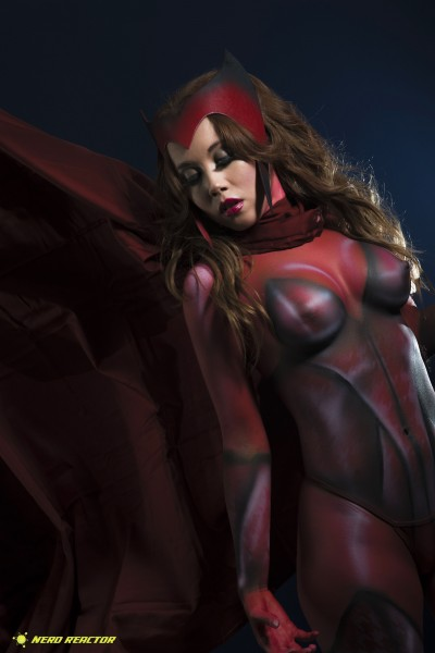 Avengers Captain America Scarlet Witch Photoshoot - 02