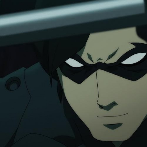 Nightwing spars with Robin in Batman vs. Robin clip