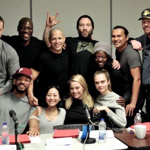 Suicide Squad cast picture reveals three new cast members