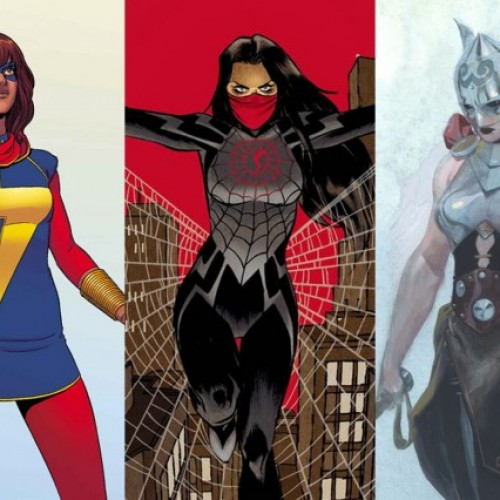 Female superheroes lead ComiXology's top 10 list