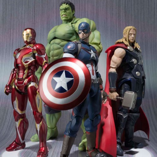Tamashii Nations set to release Avengers: Age of Ultron S.H. Figuarts line