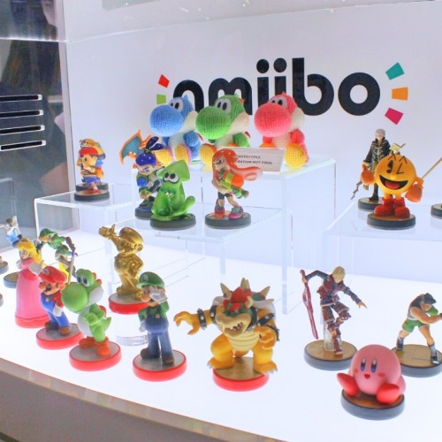 Nintendo showcases upcoming Amiibo at Wondercon 2015
