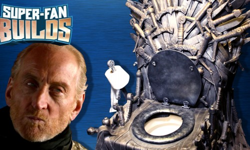 Super Fan builds Game of Thrones' Iron Throne Toilet