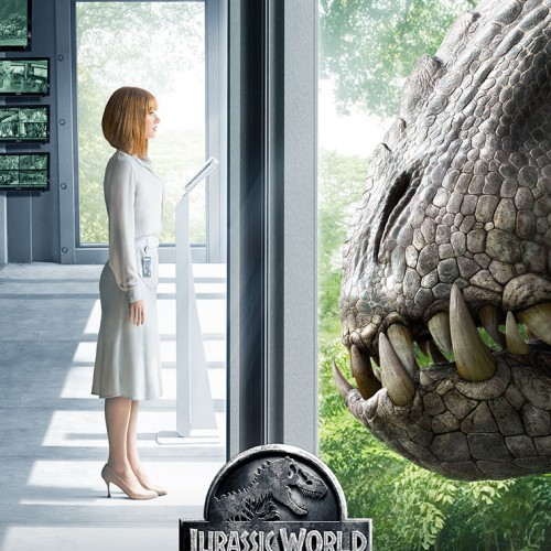 New Jurassic World poster: Bryce Dallas Howard vs. the Indominus Rex