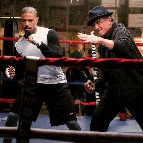 First picture of the new Rocky spin-off, Creed, has been released