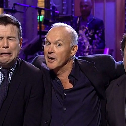 SNL: The cast plays Batman and Beetlejuice with Michael Keaton