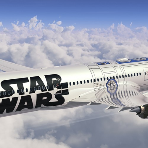 Star Wars and ANA (All Nippon Airways) collaborate on plane