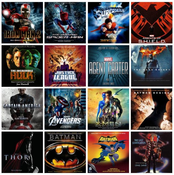Superhero Soundtracks