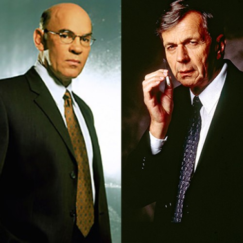 Skinner and Cigarette-Smoking Man to return in X-Files revival series