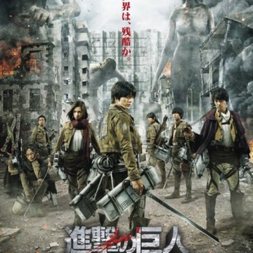 New trailer and poster for Attack on Titan live-action movie!