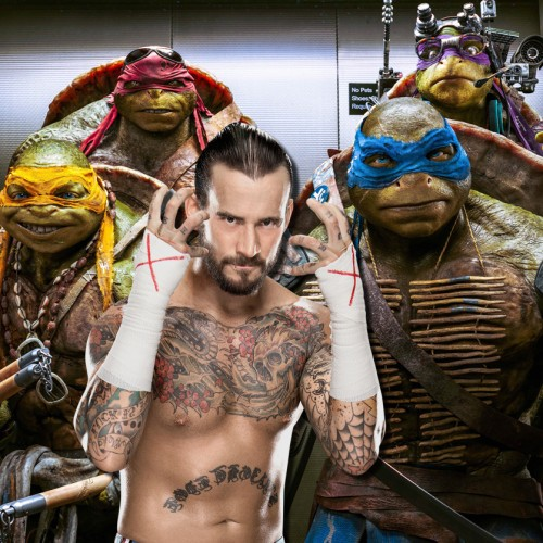 CM Punk auditioned for role in Teenage Muntant Ninja Turtles sequel