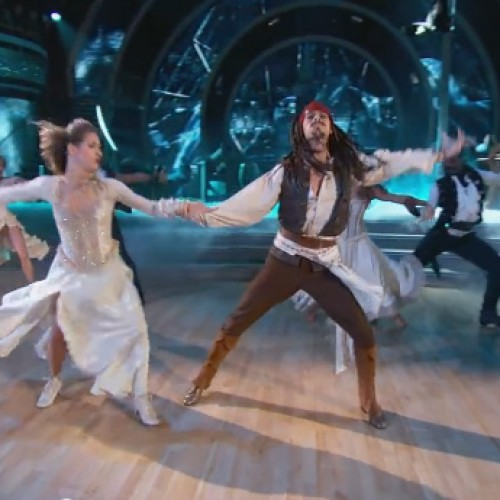 Dancing with the Stars does Pirates of the Caribbean's Captain Jack Sparrow