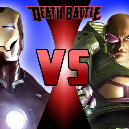 Iron Man battles Lex Luthor in Death Battle