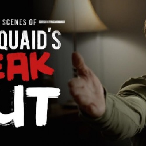 Dennis Quaid freak out is a Funny or Die prank