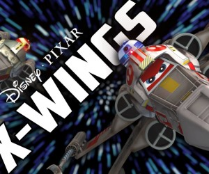 disney pixar x-wings
