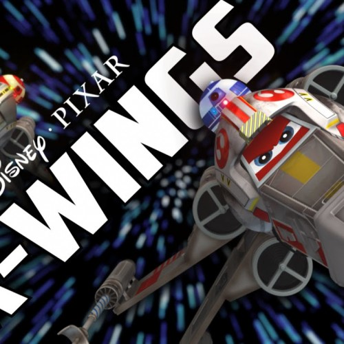 Disney and Pixar's X-Wings is inspired by Cars and Planes