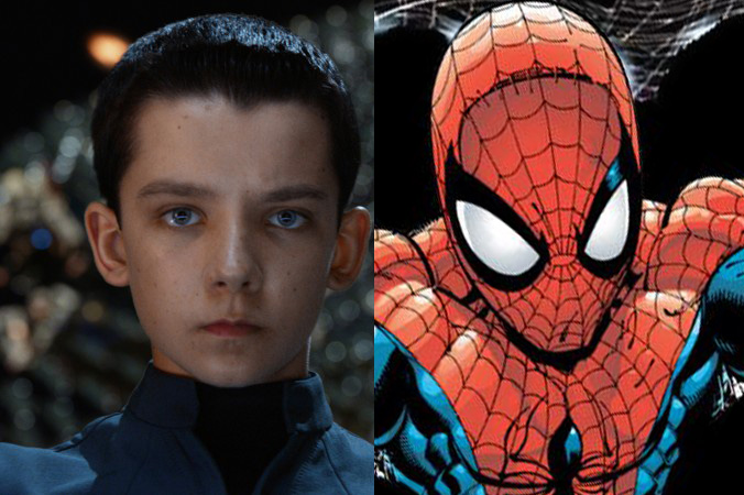 enders game asa butterfield spider-man