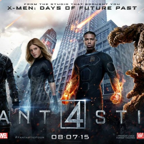 Here are the Fantastic Four character posters and banner