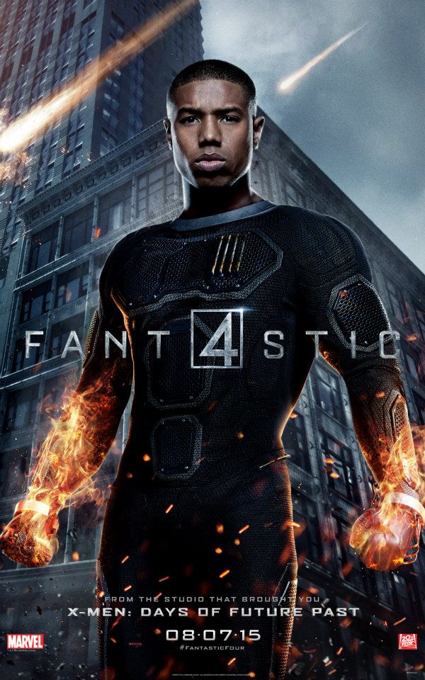 fantastic four character posters - human torch