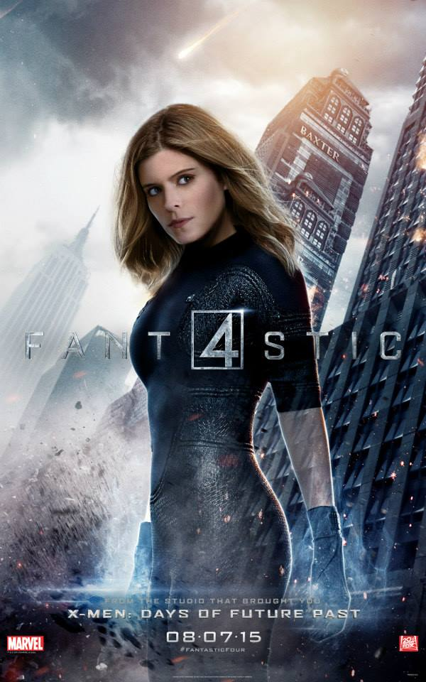 fantastic four character posters - invisible woman