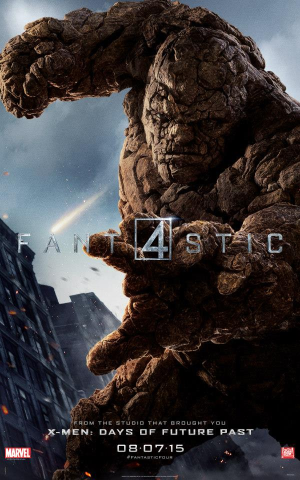fantastic four character posters - thing