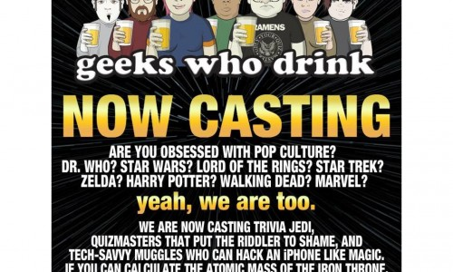 Geeks Who Drink: Now casting for their new show