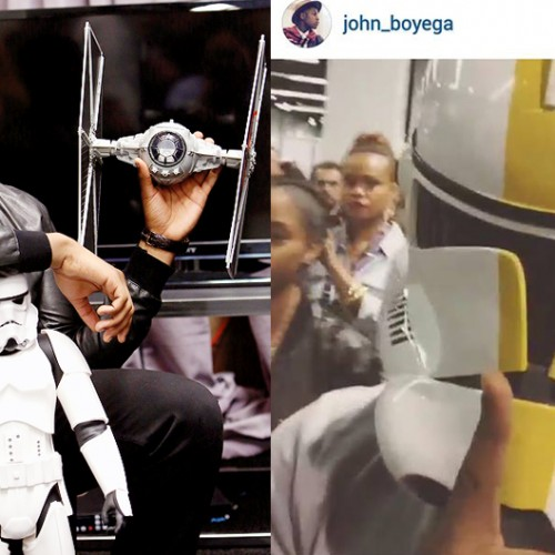 John Boyega walked around Star Wars Celebration in disguise